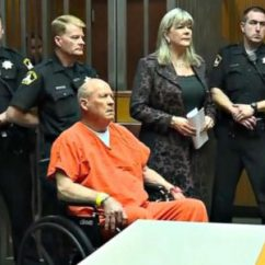 Wheelchair Killer Best Stadium Chair Suspected Golden State Attends First Court Appearance Handcuffed In