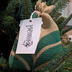 Stocking coffee gift bags