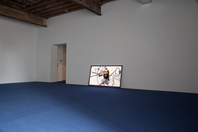 Animation, masks, 2011. Digital Animation Video, format variable. 12 minute 29 seconds.