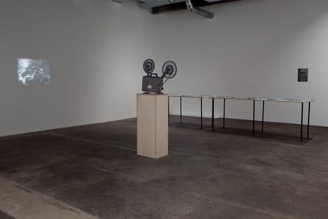 Savage Palms, Worn Stones, Moonshine Vision, installation view.