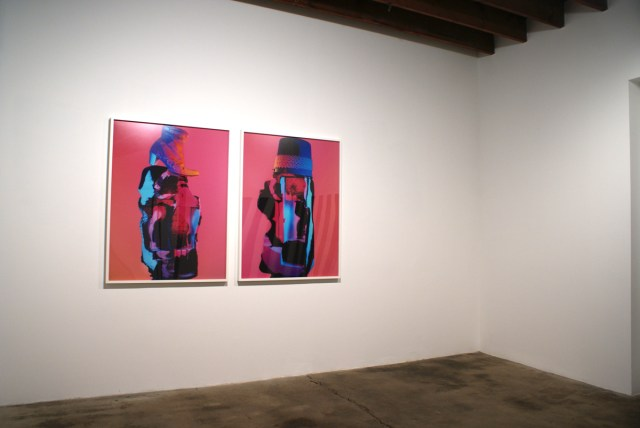 Nancy de Holl, Old Hat/New Hat, 2007. Digital c prints. 47 x 35 inches each, edition 1 of 4 +2 AP's. Courtesy the artist and Taxter Spengemann.