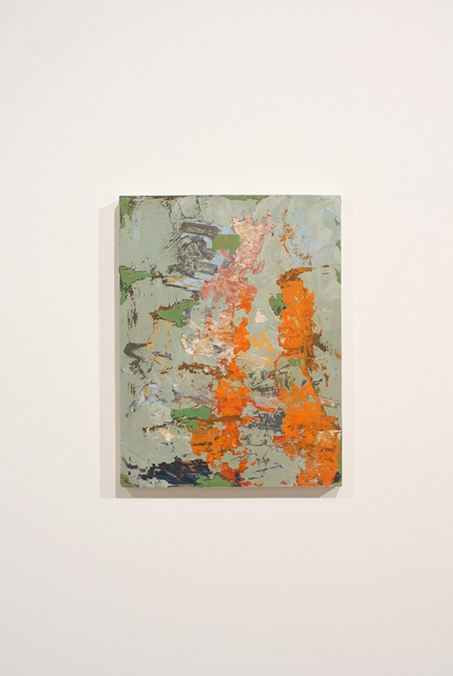 Richard Aldrich, Untitled, 2008. Oil and wax on panel. 12 ½ x 9 ½ inches. Courtesy of the artist and Marc Foxx.