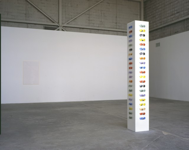 Aaron Young, installation view.