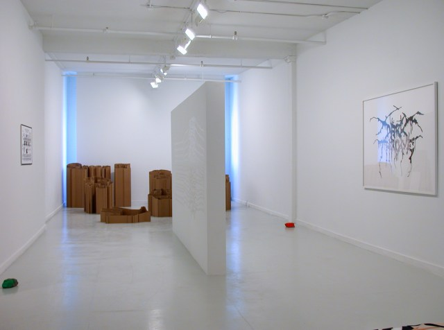 Jay Heikes and Kirk McCall, installation view.