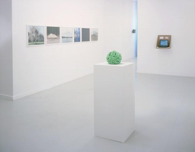 Storage and Retrieval, installation view. Foreground: Motonobu Kurokawa. Left to right: Jen Murphy, Sarah Oppenheimer with NLVP.