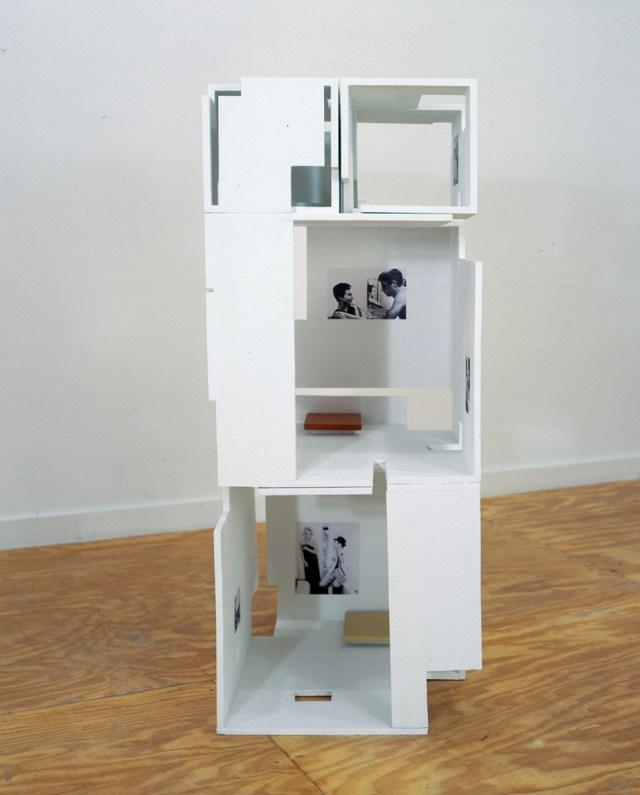Javier Cambre, Hotel (Paris), 2001. Wood, paint, digital print.