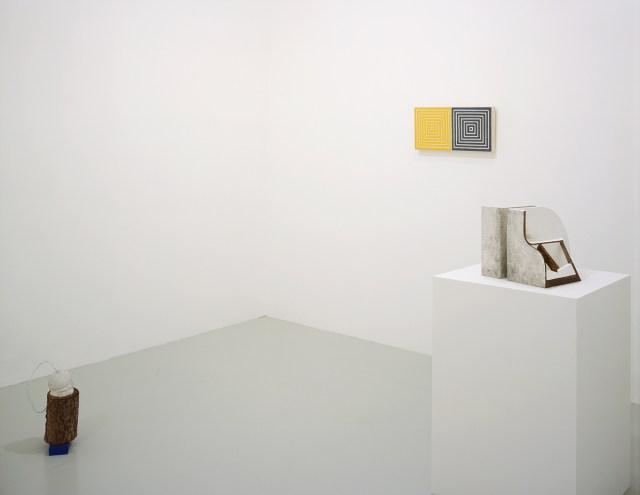 ISHTAR, installation view. Left to right: Samara Caughey, Sturtevant, Vincent Fecteau.