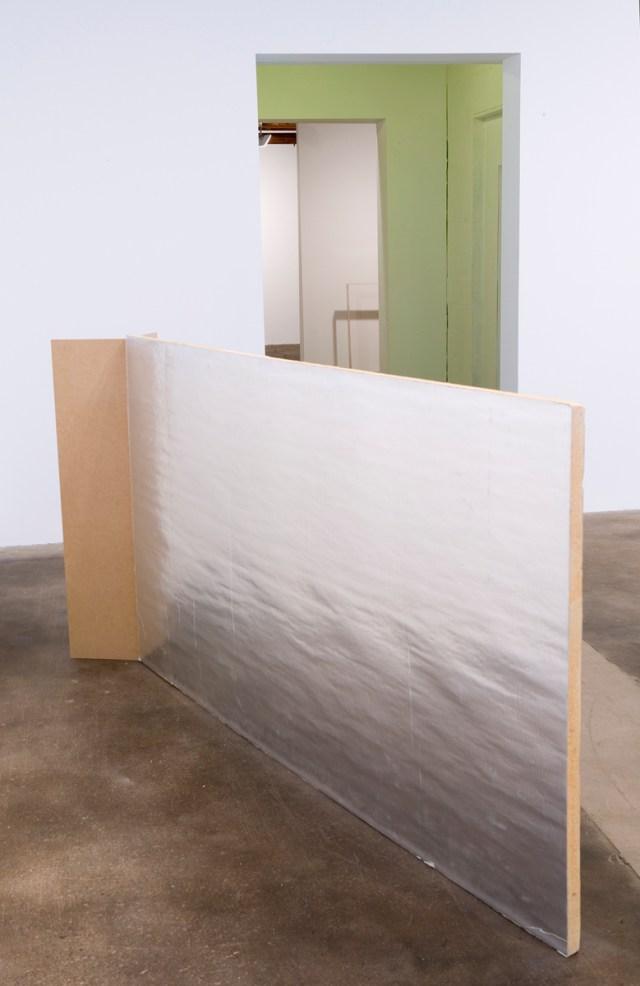 Begin, 2006-2007. Insulation board, MDF, enamel spray paint, latex paint.