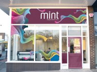 Shop front signs and displays
