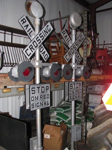 Railroad signs