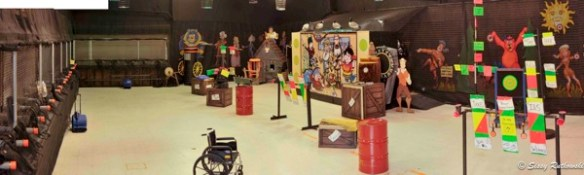 compressed air shooting gallery for sale in new jersey