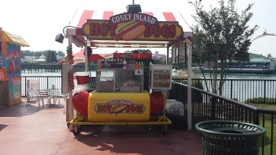 Willydog hot dog cart 1
