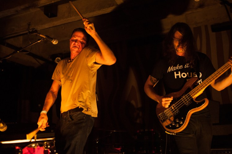 Ed Schrader's Music Beat lie at Doug Fir Lounge in Portland - Photo Credit: