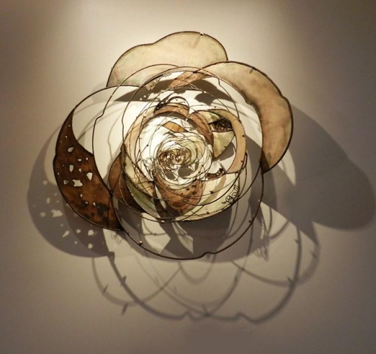 """""""Cosmic Rose"""" by Jill King."""