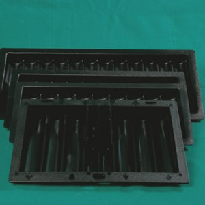 BlackPlasticChipTrays