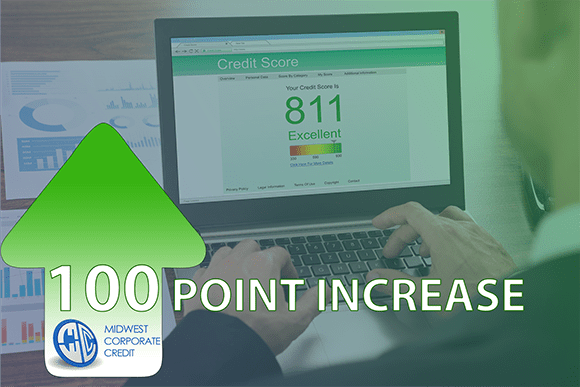Real life case study: FICO Score Increased by 100 Points