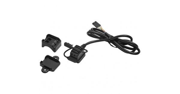 Surface or Handlebar Mount USB Power Source by Kuryakyn