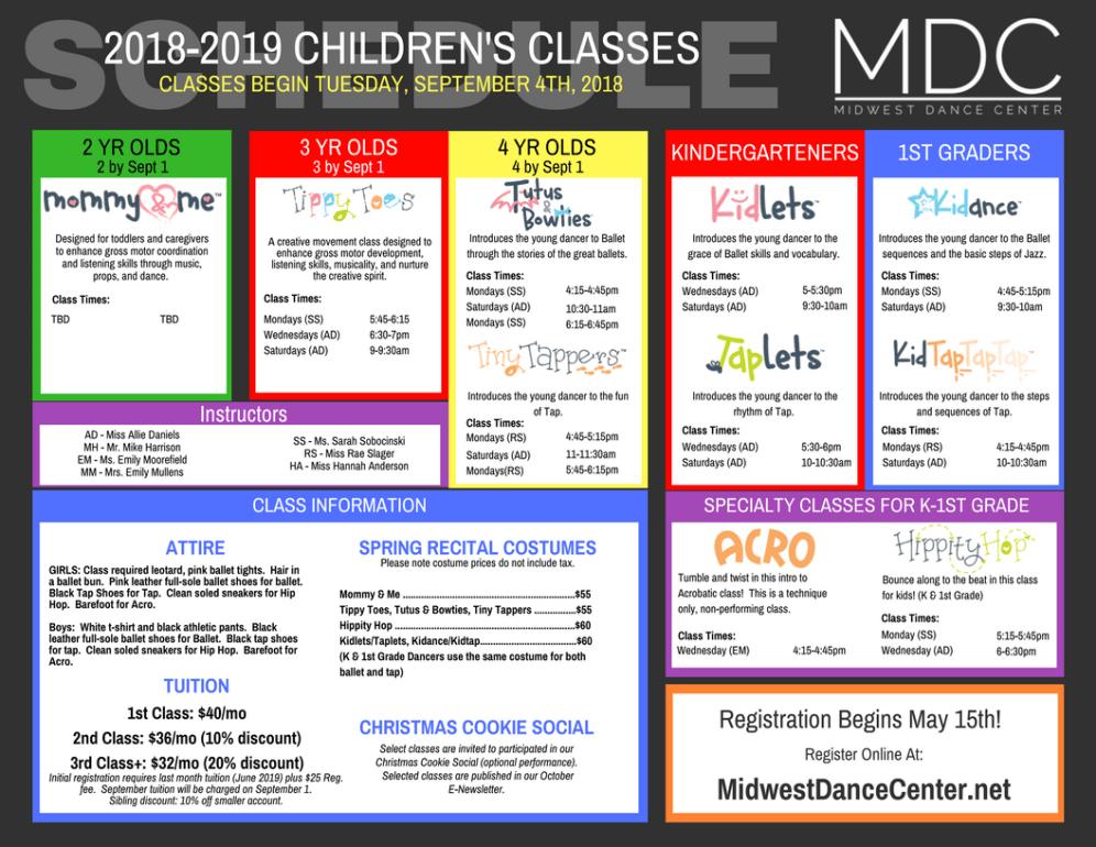 2018-2019 Children's Class Schedule-4