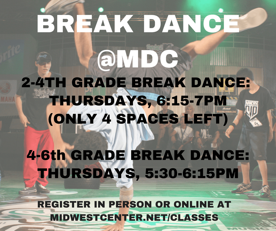 BREAK DANCE CLASSES