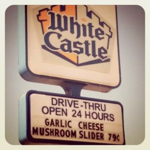 White Castle sign