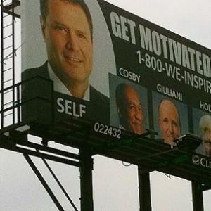 motivational billboard
