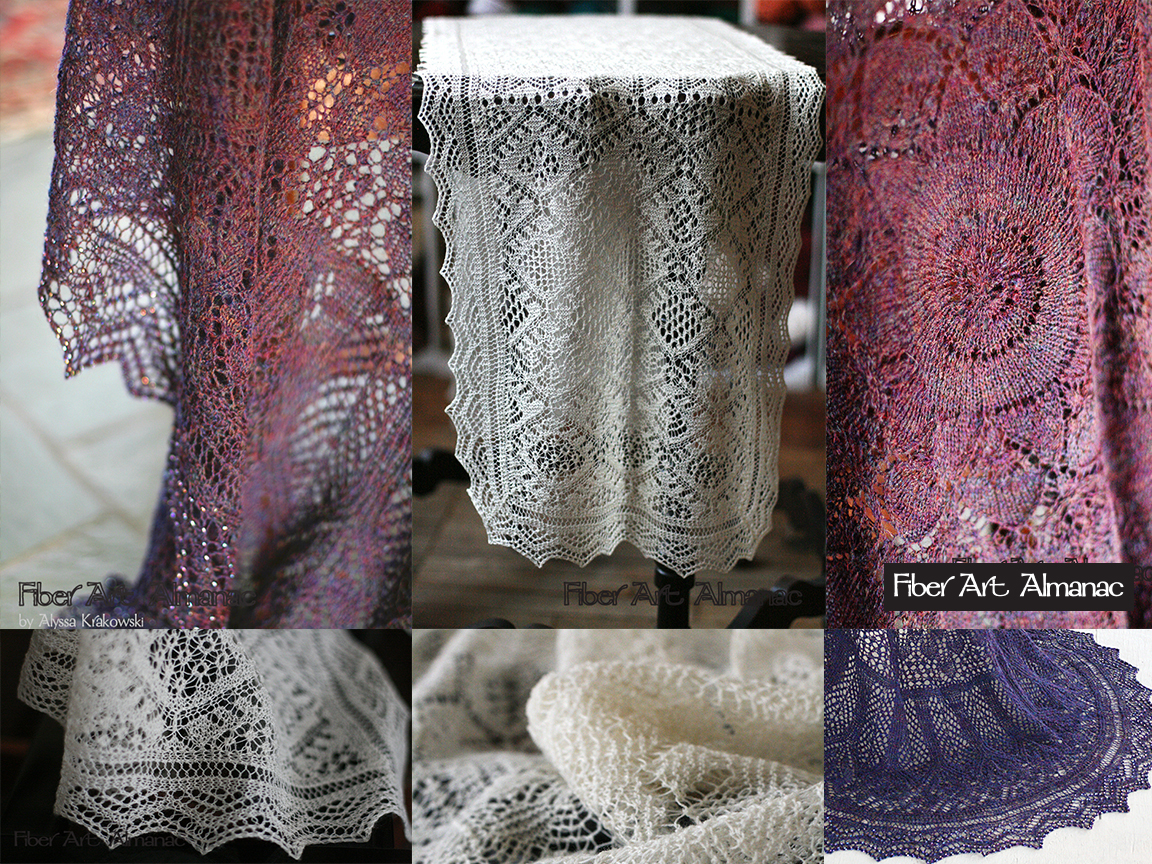 4338d4b65 Knitted lace or lace knitting