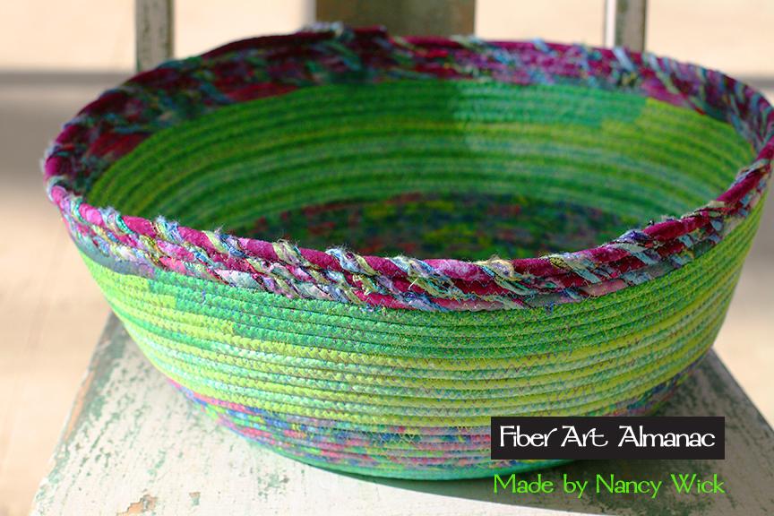 Nancy Wick's excellent fabric baskets