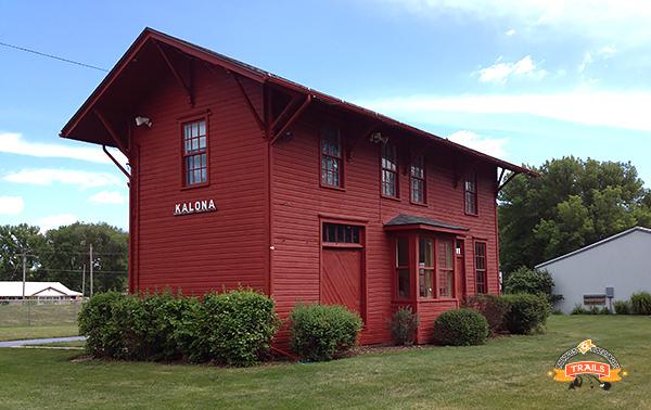 Old Kalona depot