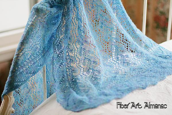Elizabeth Watkins' lovely lace shawls and wraps
