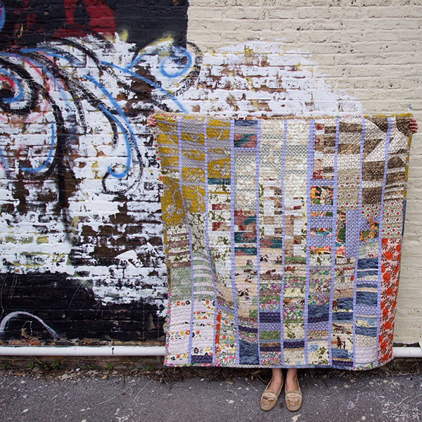 Heidi Parkes, artist as quilt maker