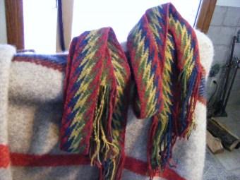 natural dyed fingerwoven leg ties 003