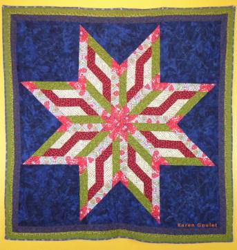 A Star Quilt by Karen Goulet
