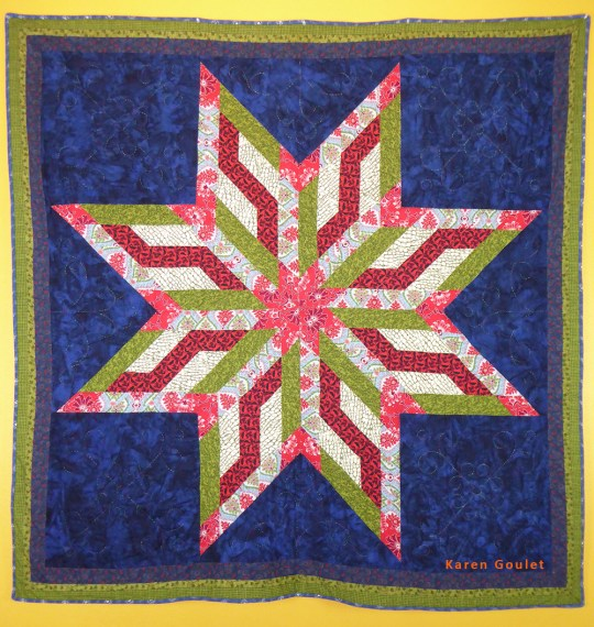 For over ten years, Karen has worked in textiles and fiber focusing on needle arts, quilt making, surface design, weaving, mixed media and knitting. Creative Medias – Traditional and Contemporary Skilled seamstress who designs and creates unique hand quilted Star Quilts, Mixed media works which are focused on meaningful incorporation of traditional motif and stories into contemporary works of art. She has recently returned home to White Earth where she is currently working as Director of Gizhiigin Art Space, a tribal entity serving artists on the reservation. She is also art instructor at White Earth Tribal and Community College. Prior to this she was the Art Director for the Division of Arts at the Salish Kootenai Tribal College.