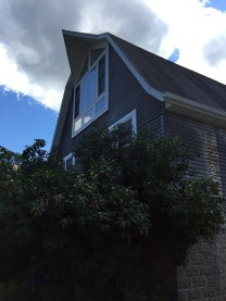 The barn with its big window!