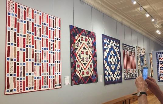 Iowa Quilt Museum 'Quilts of Valor' Exhibit.