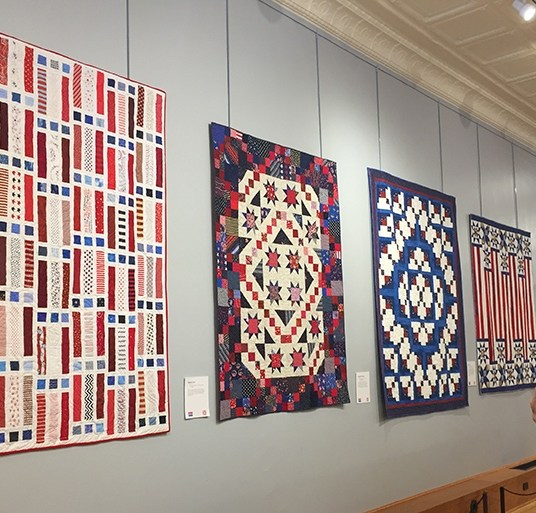 Iowa Quilt Museum 'Quilts of Valor' Exhibit.