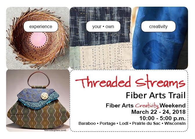 Threaded Streams' 2018 Workshops Highlight: The Business of Fiber Art