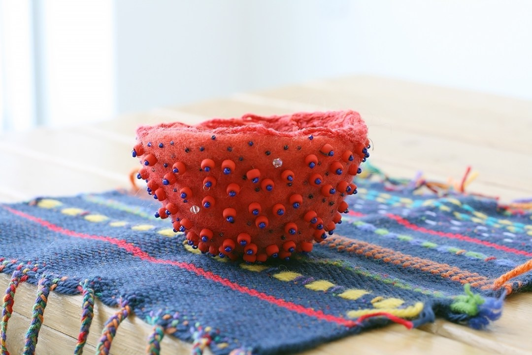 Patty Lovegreen Weaving and Felt Making