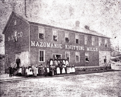 Mazomanie Knitting Mills: A Look into the Past
