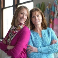 Janelle and Linda, Owners of The Old Creamery Quilt Shop