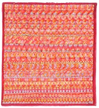 Batik on cotton, Anne Wilder, Red Wing, Minnesota