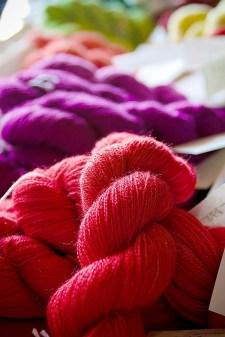 Suri alpaca knitting yarn, Little Gidding Suri Alpacas, Lester Prairie, MN