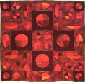 'Mars' art quilt, Rose Allen, St. Paul, MN