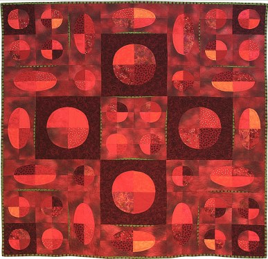 'Mars' art quilt, Rose Allen, St. Paul, MN