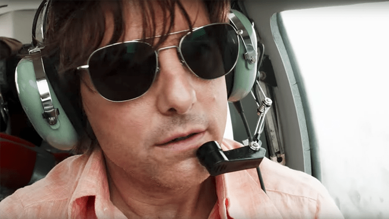 """Tom Cruise stars as Barry Seal in """"American Made,"""" a 2017 action-drama from Universal Pictures and director Doug Liman."""