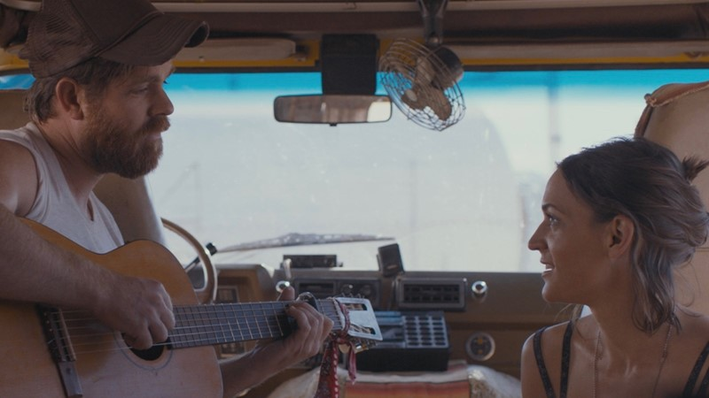 """Joe Purdy and Amber Rubarth play a pair of musical souls stranded in California after 9/11 in """"American Folk,"""" playing at the 2017 Heartland Film Festival."""