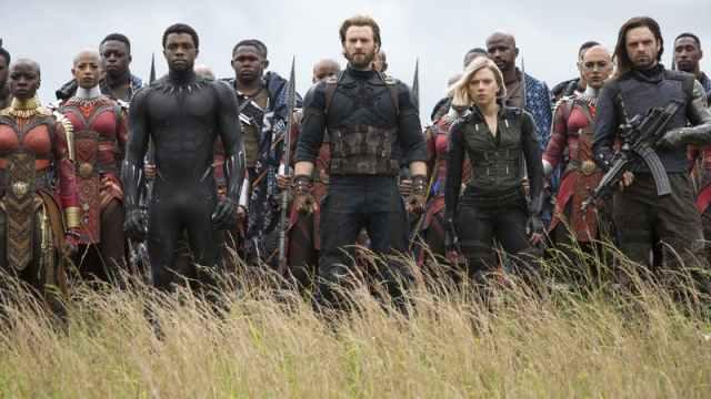 On DVD: Avengers: Infinity War