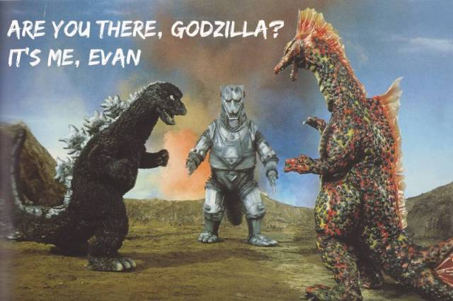 Are You There, Godzilla? It's Me, Evan: Terror of Mechagodzilla (1975)