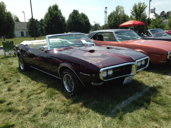 1968 Firebird 400 Burgundy