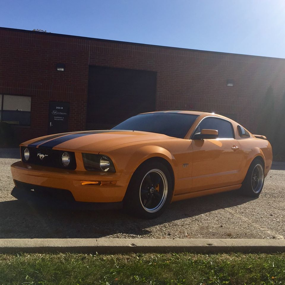 3M Auto Tint Upgrades this Ford Mustang